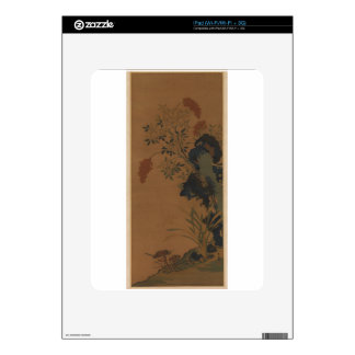 Winter Flowers - Chinese (Ming Dynasty) iPad Skin