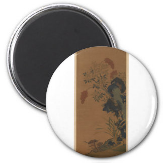 Winter Flowers - Chinese (Ming Dynasty) Magnet