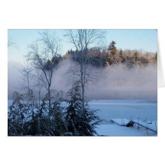 Winter Fog Card