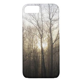 Winter Fog Morning Sunrise Nature Photography iPhone 8/7 Case