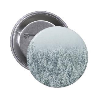 Winter Forest Button