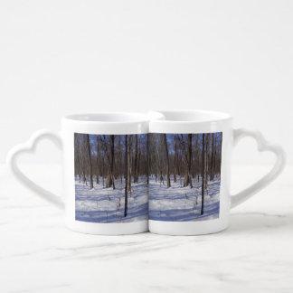 Winter Forest Coffee Mug Set