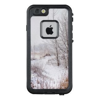 Winter Forest Landscape. Trees Covered in Snow. LifeProof FRĒ iPhone 6/6s Case