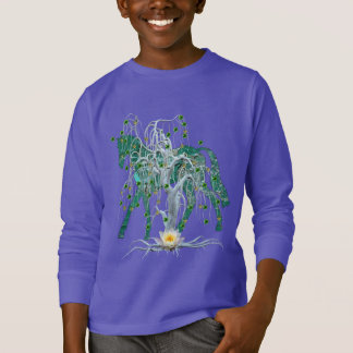Winter Forest New Year Horse T-Shirt