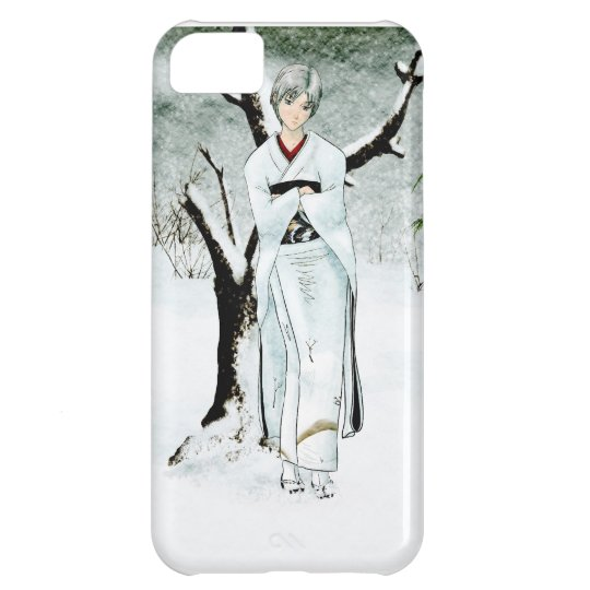 Winter Forest (Old Paper Version) iPhone 5C Case