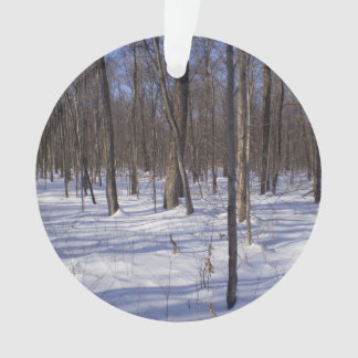 Winter Forest Ornament