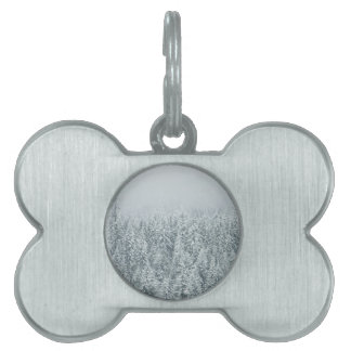 Winter Forest Pet Tag