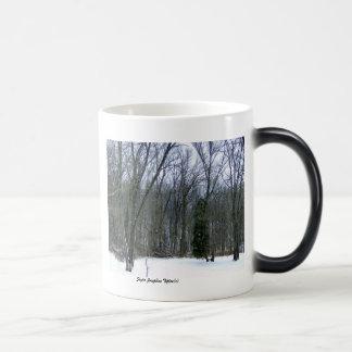 Winter Forest Scenery Mug