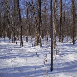 Winter Forest Statuette