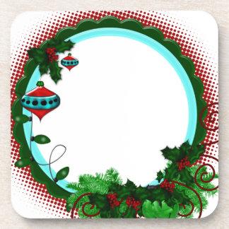 Winter Frame Beverage Coaster