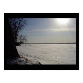Winter Freeze Postcard
