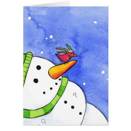 Winter Friends Cards