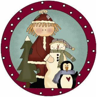 Winter Friends Christmas Tree Ornament
