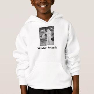'Winter Friends'  Kids' Hoodie Sweatshirt