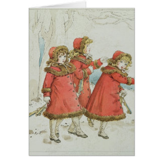 Winter' from April Baby's Book of Tunes, 1900 Card