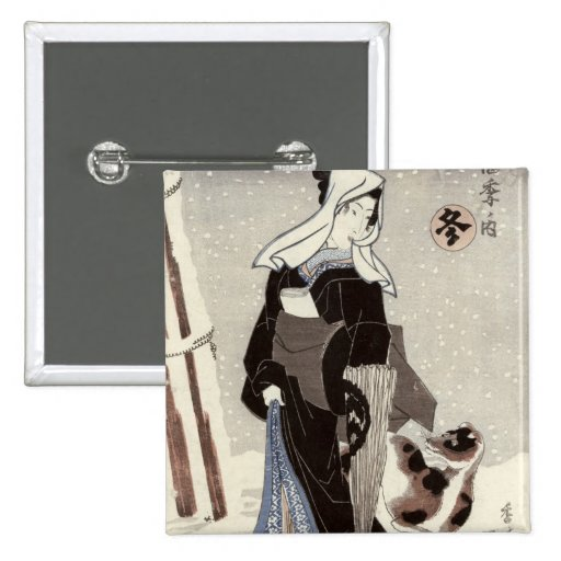Winter, from the series 'Shiki no uchi' Button