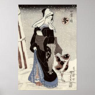 Winter, from the series 'Shiki no uchi' Print