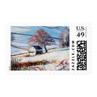 Winter Frost 2009 Postage Stamp