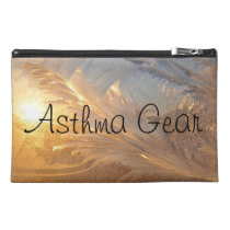 Winter Frost Asthma Emergency Kit Travel Accessory Bag