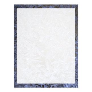 Winter frost letterhead