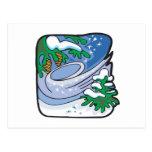 Winter Frost Postcard