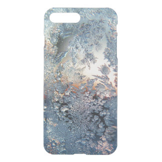Winter frost snowflakes bling snowflake bokeh clea iPhone 7 plus case