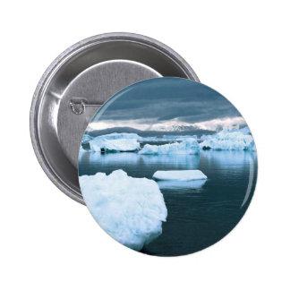 Winter Frozen Antarctica Pins