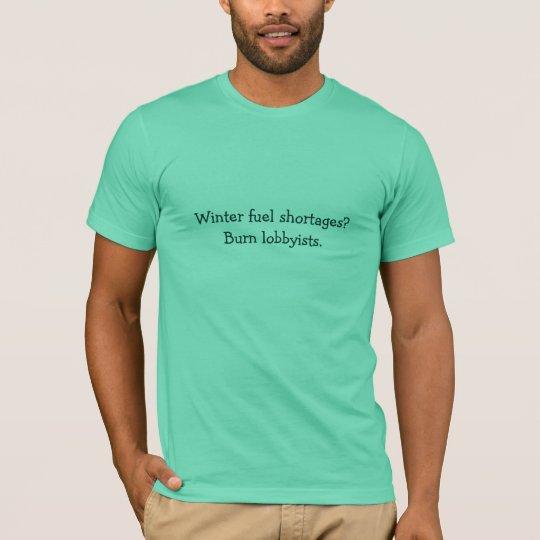 Winter fuel shortages? T-Shirt