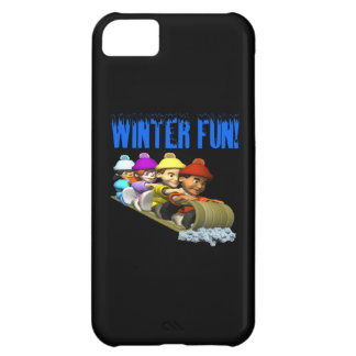 Winter Fun 2 Cover For iPhone 5C