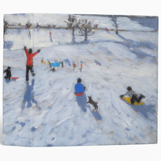 Winter Fun Chatsworth 2010 3 Ring Binder