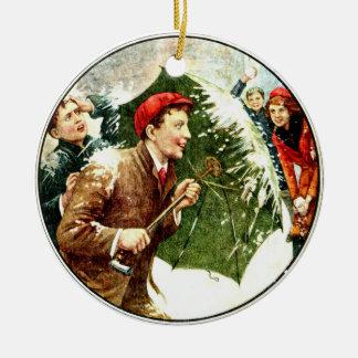 Winter Fun Ornament