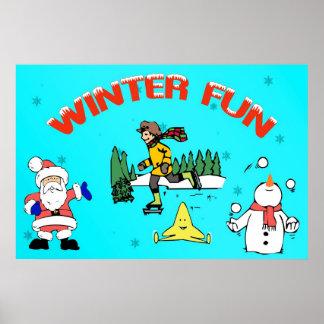 Winter Fun Poster