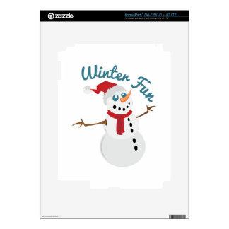 Winter Fun Skin For iPad 3