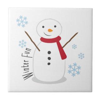 Winter Fun Tile