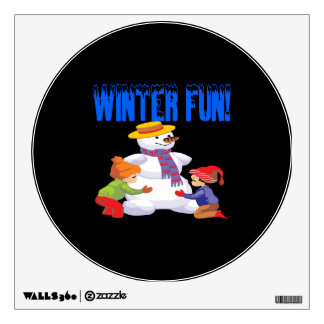 Winter Fun Room Decal