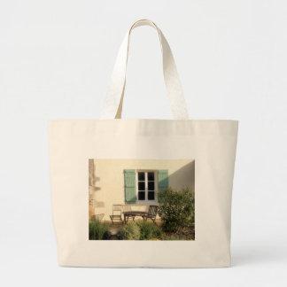 winter garden canvas bag