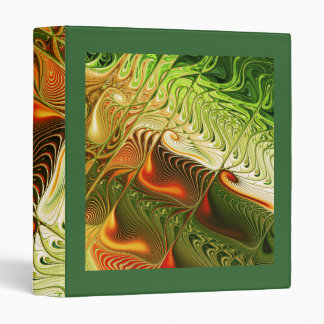 Winter Garden Vinyl Binder