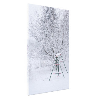 Winter Garden Canvas Print
