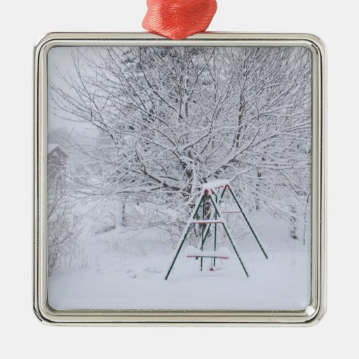 Winter Garden Christmas Tree Ornaments