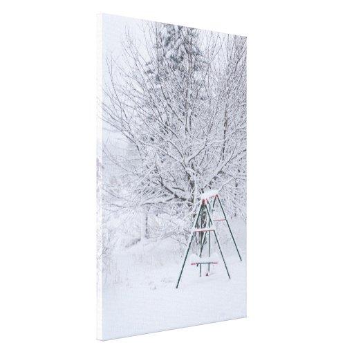 Winter Garden Gallery Wrap Canvas