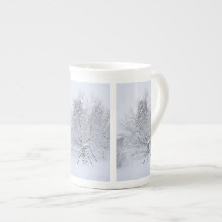 Winter Garden Tea Cup