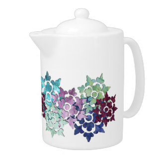 Winter Garden Teapot