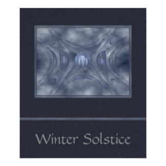 Winter Gates Abstract Art Posters