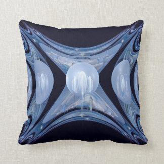 Winter Gates Abstract Art Throw Pillow