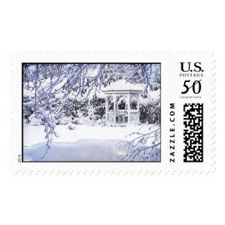 Winter Gazebo Postage