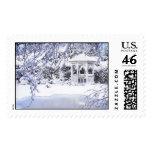 Winter Gazebo Stamp
