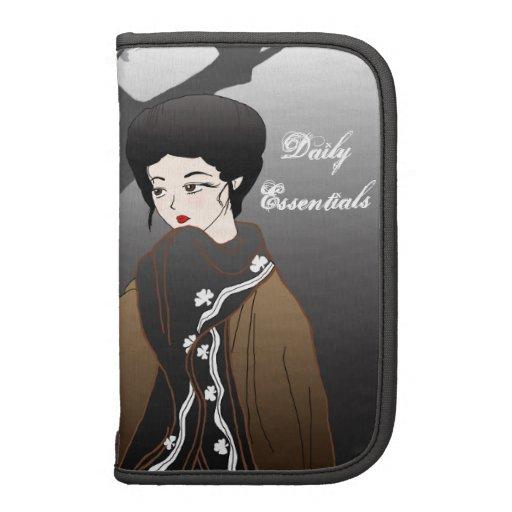 """Winter Geisha """"Daily Essentials"""" Folio Planner"""