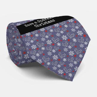 Winter Gemstone Diamond Have aSparkling Christmas Tie