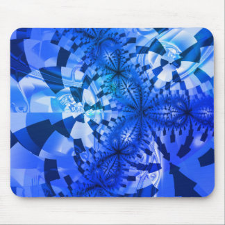 Winter Geometry Mouse Pad