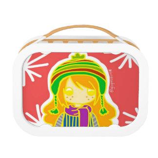 Winter Girl Yubo Lunch Box